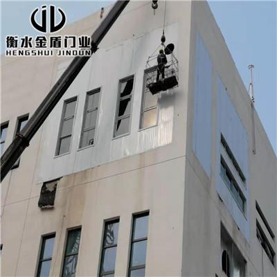 防爆墙厂家施工河南正德医药现场